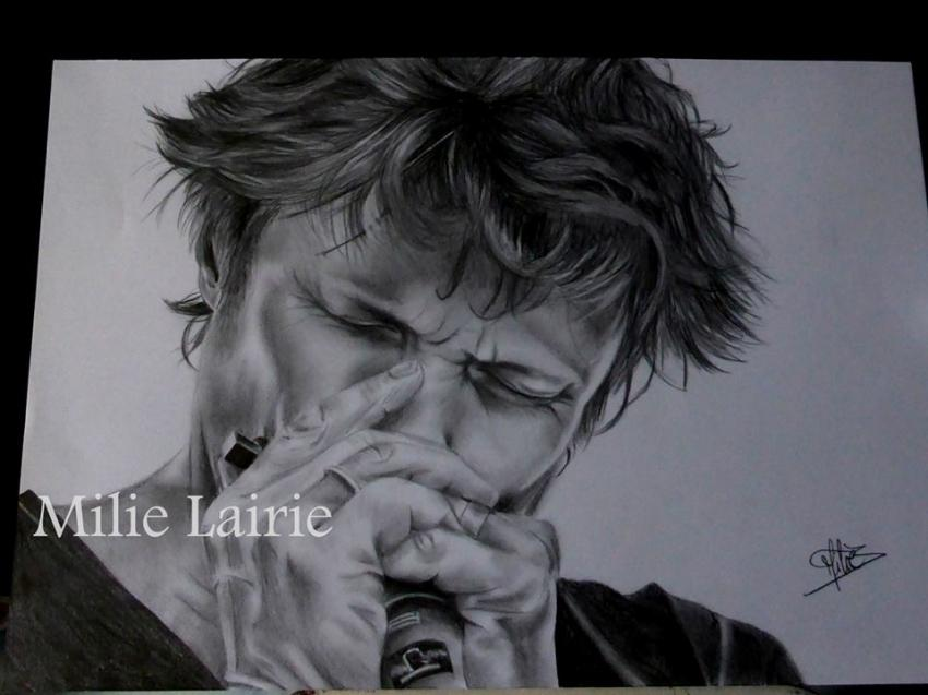 Bertrand Cantat by Milie